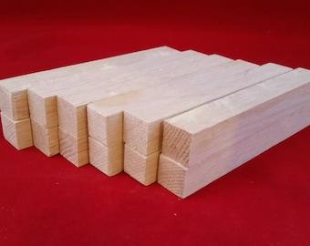 Oak Pen Blanks - Set of 12