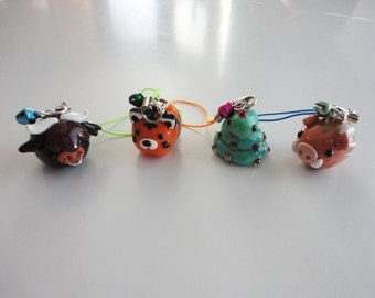 Chinese Zodiac Polymer Clay Charm Accessory