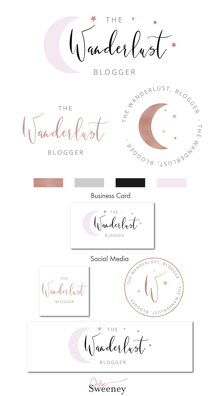 Watercolor logo premade logo branding kit photography zoom magicingreecefo Choice Image