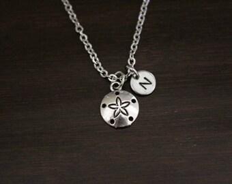 Sand Dollar Necklace - Sand Dollar Jewelry - Beach Gift - Beach Necklace - Beach Lover Jewelry - Sea Biscuit Necklace - I/B/H