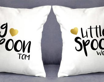 Personalised cushion cover Set