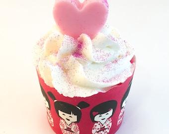 Bath bomb - Bubble bath - Bubble bar - Bath cupcake - Bath soak - Fun gift - Stocking stuffer - Mother's Day present - Vacation - Present