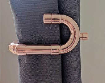 Copper Curtain Tie Backs   Modern Curtain Ties   Pure Copper   Industrial   Modern  Curtain Hold Backs   Curtain Ties   Curtain Holders