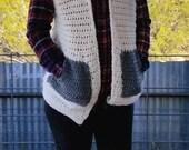 Sweater Vest Crochet PATT...