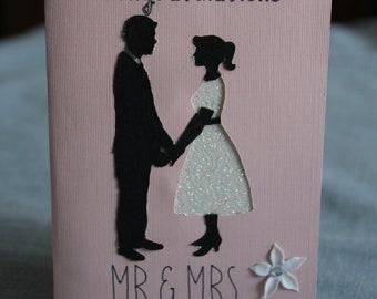 Mr. & Mrs Wedding Card