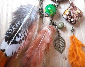 natural dreamcatcher necklace