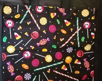 Halloween Trick or Treat Poison Candy Tote Bag
