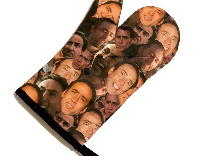 Featured listing image: Nicolas Cage Oven Mitt