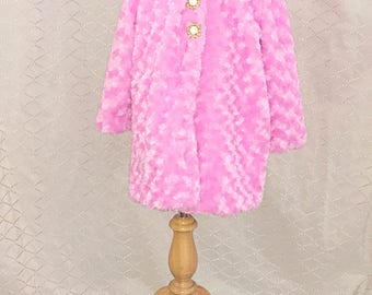 Pink Faux Jacket for a Princess.