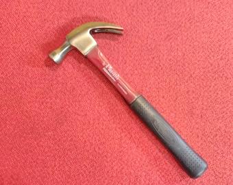 "Plumb Permabond Claw Hammer 13"" Fiberglass Cushion Grip Handle Made In USA"