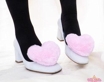Hearts Shoe clips