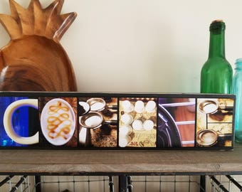 Coffee Bar Decor Sign Coffee Station Gift For Coffee Lover Coffee Art Gift Coffee Drinker Coffee First Housewarming Gift Coffee Gift Idea