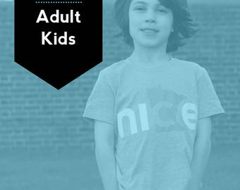 Adult + Kids Set, FREE SHIPPING - Nice Minnesota Shirt, State Shirt, Minnesota Shirt, Minnesota T-shirt