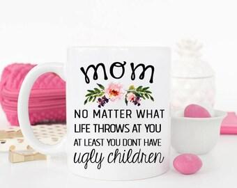 Funny Christmas Mug for Mom, Christmas Mug for Mom, Mom Mug from Daughter Funny, Christmas Mug for Mom From Daughter, Mom Mug, Funny Mom Mug