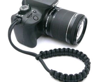 "The ""Cordy Classic"" Paracord Camera Wrist Strap"