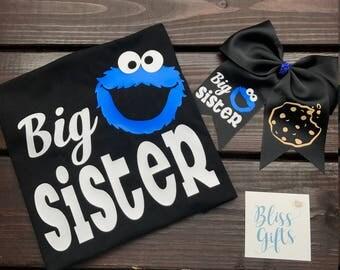 Birthday Cookie Monster Shirt, Cookie Monster Birthday Shirt, Boy Birthday Shirt, Personalized Birthday Shirt, Cookie Monster Birthday