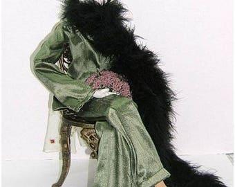 Judi Ward Original Design - Fannie May ~ Cloth Doll Making E-Pattern by Judi Ward - Download Sewing Pattern