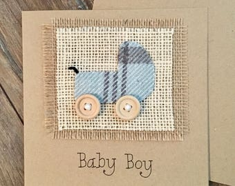 New Baby Card, New Baby Boy Card, New Baby Gift, New Baby Boy Gift, Baby Boy, Baby, New Parents, New Grandparents, New Baby
