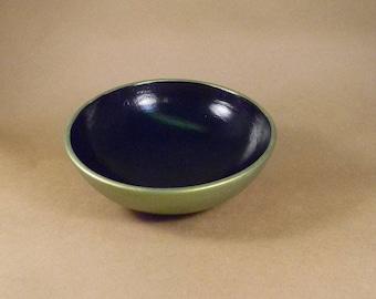 Green Metallic Trinket Bowl