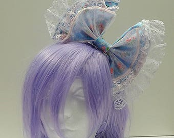 Dolly Blue Hair Bow