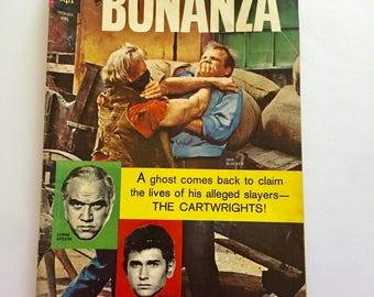 1966 BONANZA Vintage Comic Book Little Joe Hoss Pondarosa Cowboys