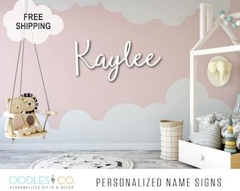 Kids Room Decor | Kids Room Sign | Name Sign for Kids | Name Sign Wood | Nursery Name Sign |Name Sign for Girl | Name Sign for Boy |  DS09