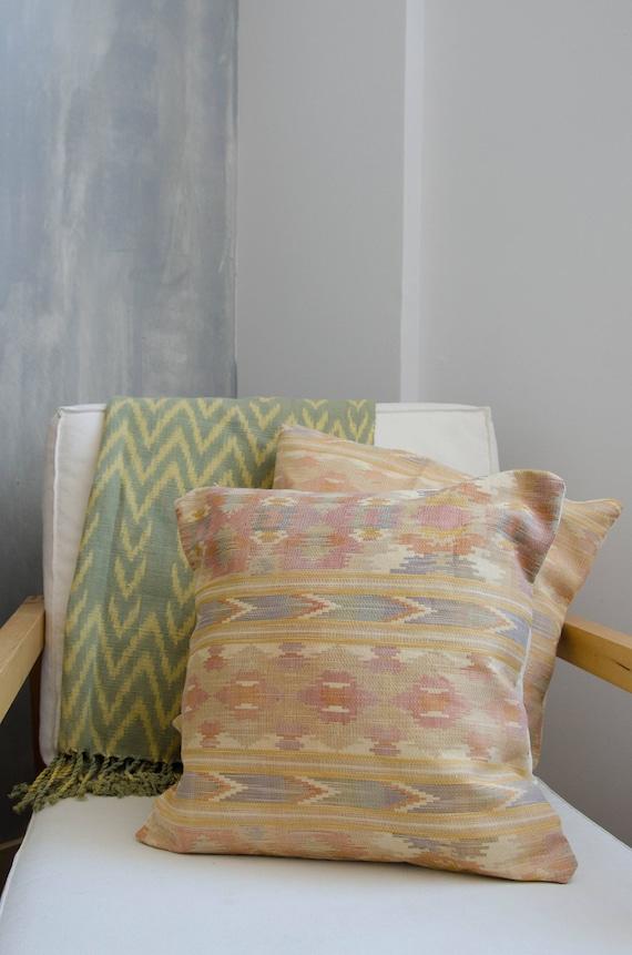 "Decorative cushion cover 18 x 18""."
