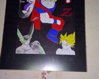 designs frames glass dragon ball z