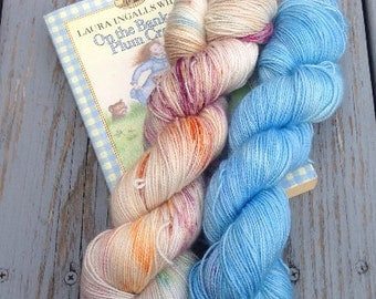 On the Banks of Plum Creek - Hand dyed yarn
