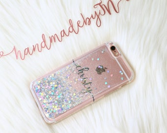 Floating glitter LG v30 Google Pixel xl case Google Pixel 2 case LG case iPhone se case iPhone 5S case google pixel 2 XL case Phone case