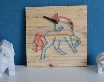 String Art Unicorn / Unicorn String Art