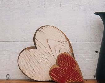 Small Handmade Wooden Heart