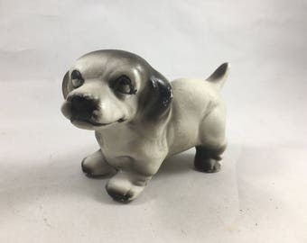 Little Goofy Vintage Dog Figurine - Lots of Personality!