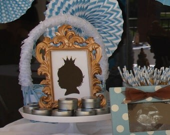 Little Prince Baby Silhouette