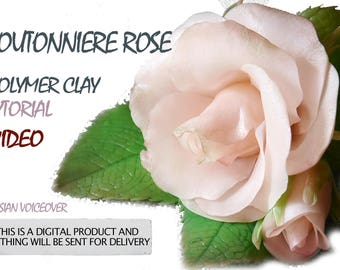 Boutonniere rose video tutorial