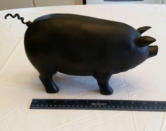Pig Statue Etsy