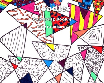 Printable PDF Book: Weasie's World of Doodles, Colouring Book 3
