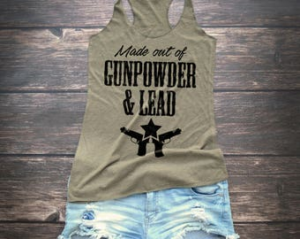 Gunpowder and  Lead  Country Tank Top