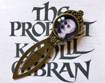 Kahlil Gibran Bookmark - The Prophet Philosophy Gift, Khalil Gibran The Prophet Bookmark, Kahlil Gibran Poetry Gift, Khalil Gibran Bookmark