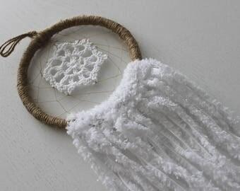 Natural Tassel Twine Handmade Dreamcatcher | Home Decoration, Bedroom Decor, Sweet Dreams, Kids Bedroom, Hippie, Nursery, Wall Art Decor
