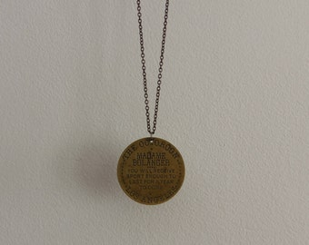 Brothel Token Necklace