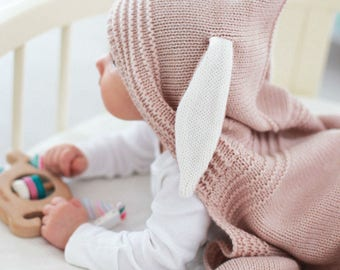 NEWBORN blanket - hooded blanket - baby blanket - swaddle blanket - animal blanket - swaddle blanket - newborn gift - newborn cover