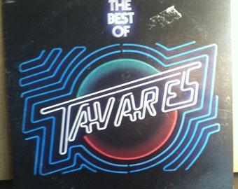 The Best Of Tavares Vinyl Disco Record Album