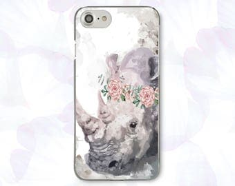 Rhino iPhone 8 Case Gift iPhone 8 Plus Case For Samsung S8 iPhone X Case Cute iPhone 7 Case iPhone 7 Plus Case 6 For Galaxy S7 Case CBB1580