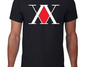 Hunter X Hunter, Hunter association logo men's tshirt