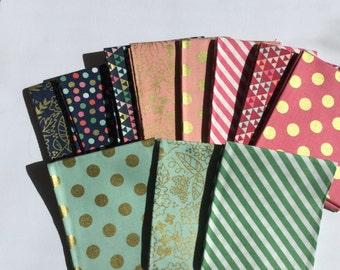 On Trend - 11 Fat quarters - Riley Blake Designs - my mind's eye - Jen Allyson