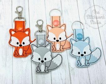 Ready To Ship! Fox Keychain - Key Fob
