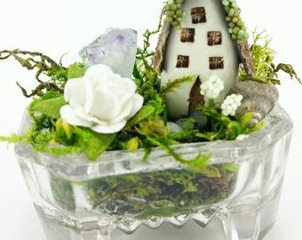White Rose Salt Cellar Nest