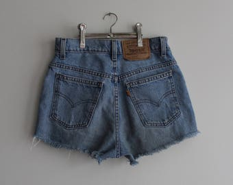 Vintage 26W Levi's High-Waisted Shorts