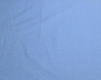 Blue Chambray Cotton/Poly Blend Fabric from Fabri-Quilt